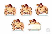 Sumo Mascot