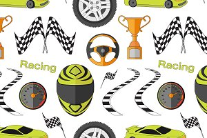 Car Racing pattern
