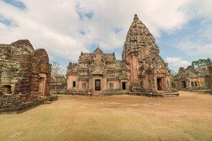 Stone castle in PrasatHinPhanomRung