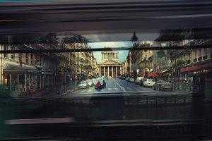 City life of Paris