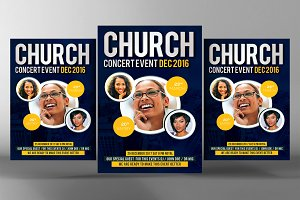 Conference Church Flyer Templates