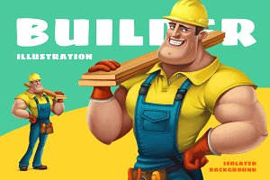 Builder illustration
