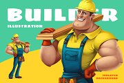 Builder illustration