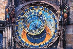 Famous astronomical clock