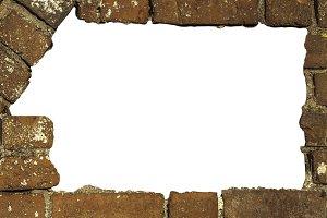 breach in brick wall