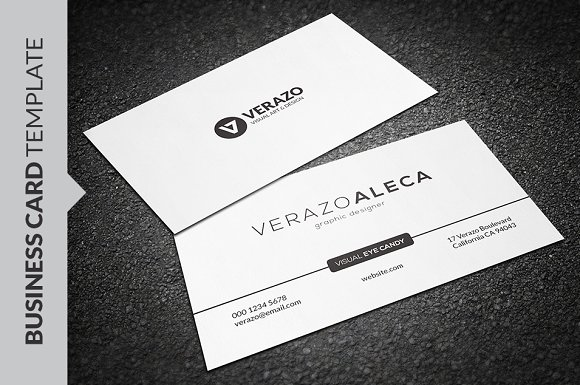 Clean minimal business card template business card templates clean minimal business card template business card templates creative market fbccfo Image collections