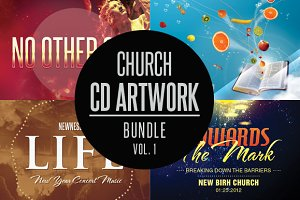 Church CD Artwork Bundle-Vol 1