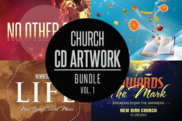 Church CD Artwork Bundle-Vol 1