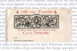 1786 GLC Fournier Set OTF