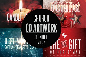 Church CD Artwork Bundle-Vol 2