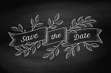 Save the Date. Greeting card