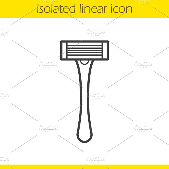 Shaver linear icon. Vector - Icons
