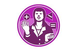 Office Worker Businesswoman Juggling