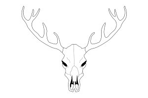 Cerf Cr C3 A2ne Vecteur 14782756 besides Search as well Clipart 26232 in addition Pic 468984314 together with Cow Skull Coloring Book Vector Illustration 566515147. on bull antlers clip art
