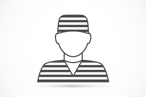 Criminal avatar icon