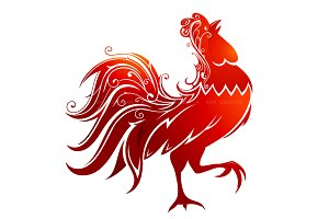 Red Rooster as symbol for 2017