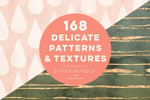 168 Delicate Patterns & Textures
