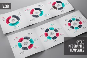 Infographics template set v.38