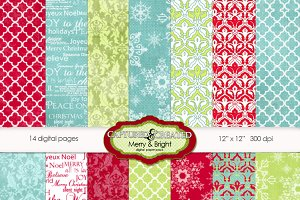 Merry & Bright Christmas Papers 14