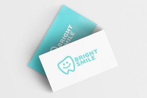 Bright Smile Logo Template