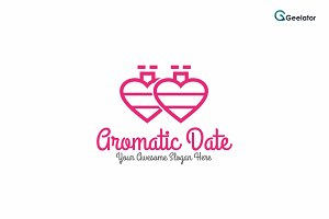 Aromatic Date Logo Template