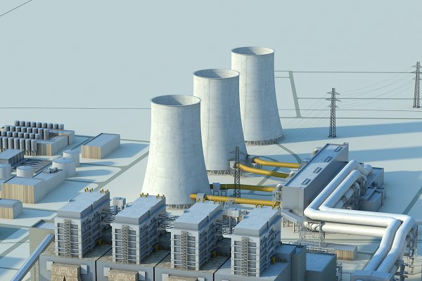 3D Architecture - Power plant