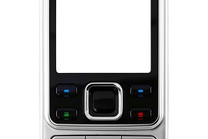 modern metal mobile phone