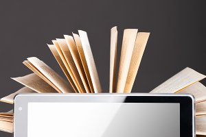 books and pad