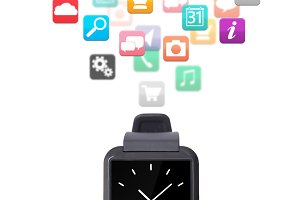 modern smart watch