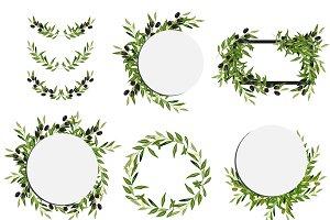 Olive frame set