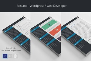 Wordpress Web Developer - Resume