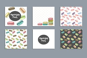 Macaron backgrounds