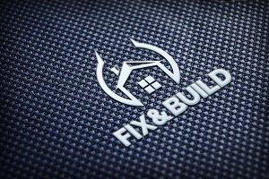 Fix&Build Logo Template