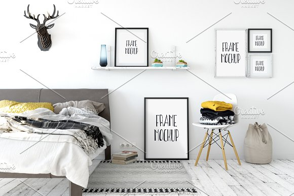 Download Scandinavian Frame Mockup_02