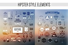 Hipster style elements