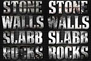 32 Extreme Stone Layer Styles 4