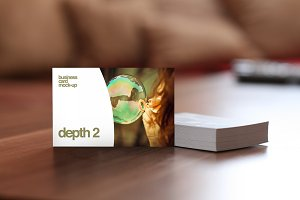 Depth 2 — Business Card Mock-Up