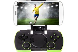 smartphone with gamepad