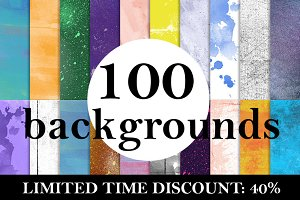 BACKGROUND PACK (100) - 40%OFF