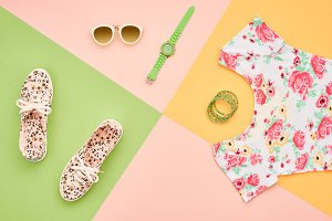 Fashion Girl Clothes Accessories