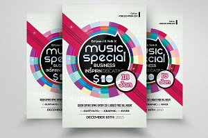 Music Party Night Flyer