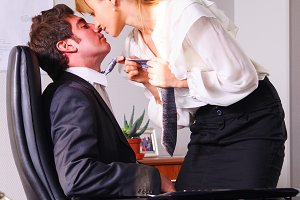 seducing a boss