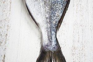 Delicious fresh dorado fish