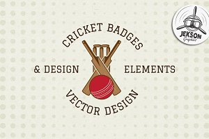 Cricket Badges & Extras