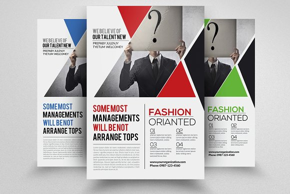 Business Solution Agency Flyer
