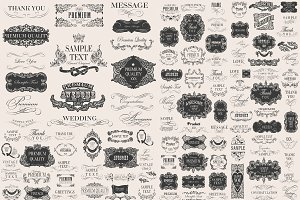 decoration vector set 4