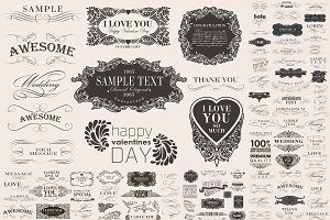 decoration vector set 5