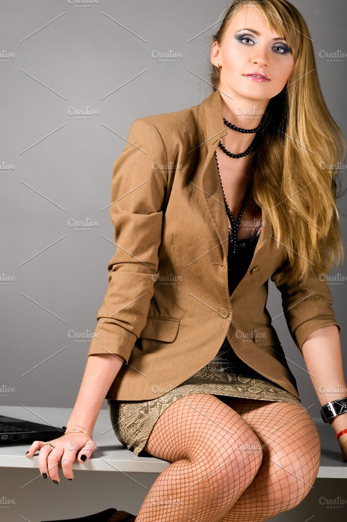 sexy business woman