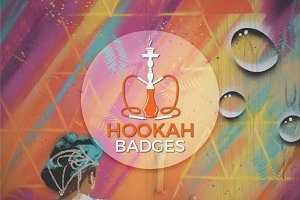Hookah Badges & Logo Collection