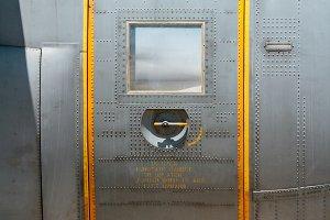 Military aircraft door